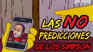 Las 8 SUPUESTAS PREDICCIONES de los Simpson!!