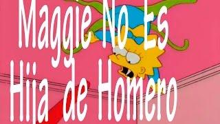 Homero no es el padre de Maggie, lo revelo Matt Groening - 2015