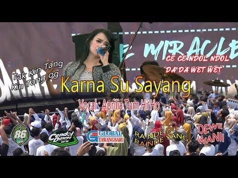 KARNA SU SAYANG MG 86 COVER VOKAL APRILIA//LIVE SMA N 1 NGUTER