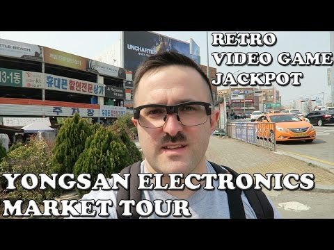 (용산전자상가) Yongsan Electronics Market Tour: Retro Video Game Jackpot (Pivothead Smart) (G7X)
