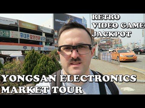 (용산전자상가) Yongsan Electronics Market Tour: Retro Video Game Jackpot (Pivothead Smart) (G7X)