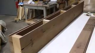 Mantle Box And Walnut Slab Table At Wyoming Wood 'n Works