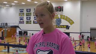 Volleyball Camp CHHS Grace