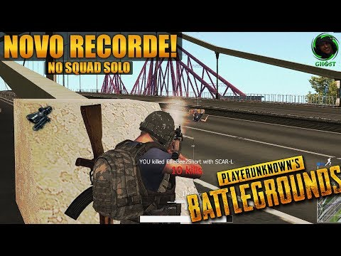 MTA PUBG | BATTLEGROUNDS | NOVO RECORDE, NO SQUAD SOLO!