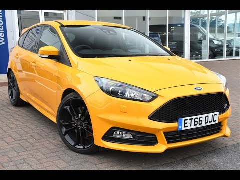 Used Ford Focus St >> Used Ford Focus 2.0 TDCi 185 ST-3 5dr Tangerine Scream 2017 - YouTube