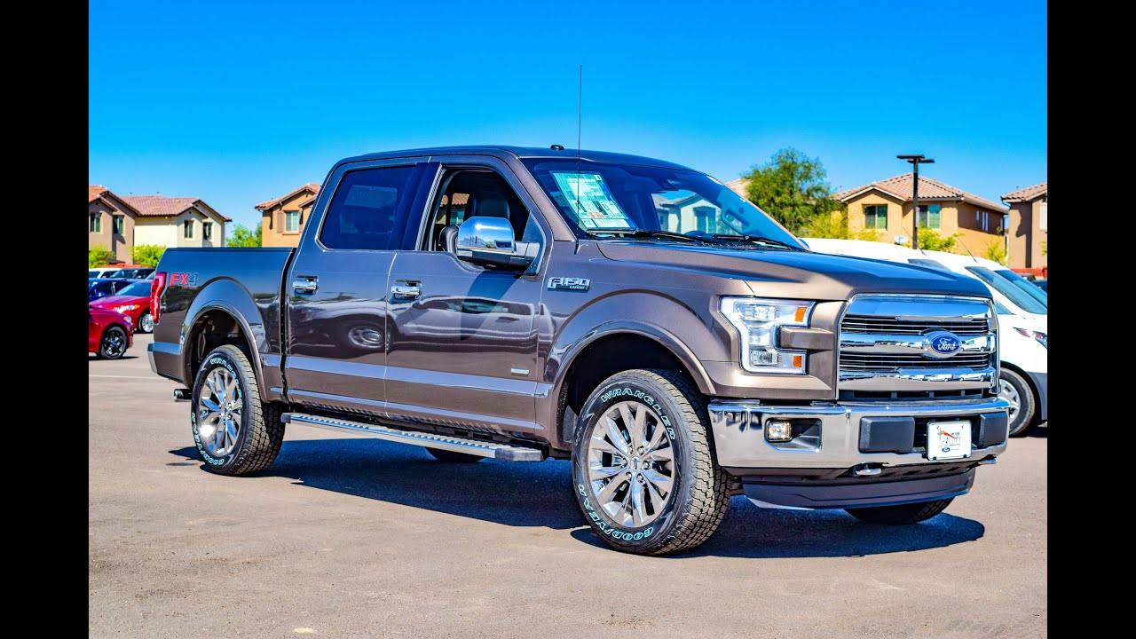 2016 Ford F 150 Lariat Walkaround