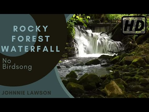 Relaxing Waterfall Nature Sounds W/O Birds Singing-Natural Soothing Sleep Sound of Water Relaxation