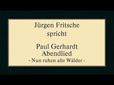 """Paul Gerhardt """"Abendlied"""" II"""
