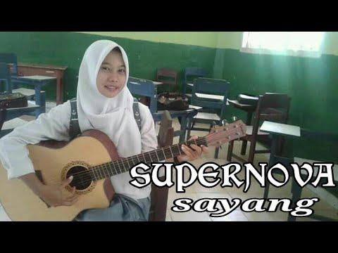 Supernova - Sayang (COVER BY RIKA) Akustik Gitar