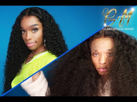 "Glamorousmanecom 28"" Deep Wave  Black Owned Business  BOMB HAIR"
