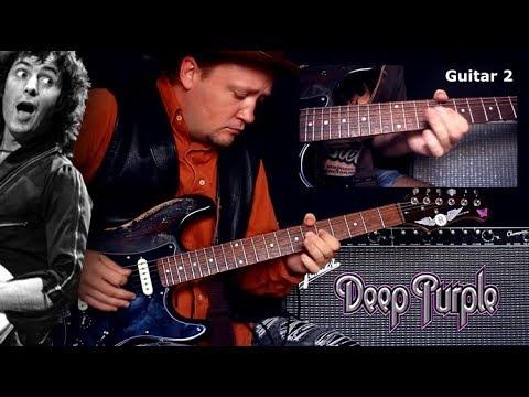 Разбор соло Highway Star - Deep Purple. Основная гитара.