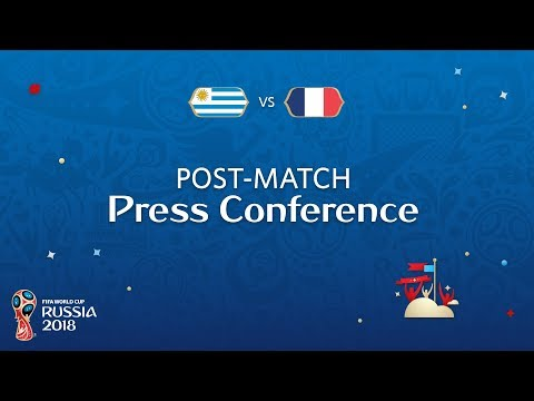 2018 FIFA World Cup Russia™ - URU vs FRA - Post-Match Press Conference