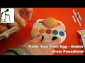 Paint Your Own Egg - Holder from Poundland