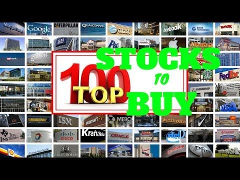 TOP 100 STOCK PICKS for NEW INVESTORS in the STOCK MARKET