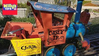 Full Tour of the Casey Jr. Circus Train at Disneyland California - Willy