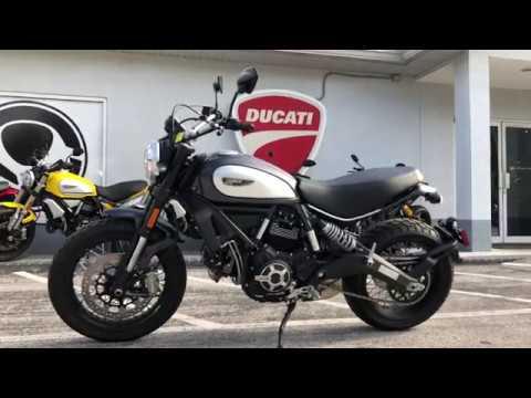 2018 Ducati Scrambler 800 Street Classic Walkaround at Euro Cycles of Tampa Bay