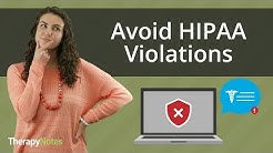 Avoid HIPAA Violations