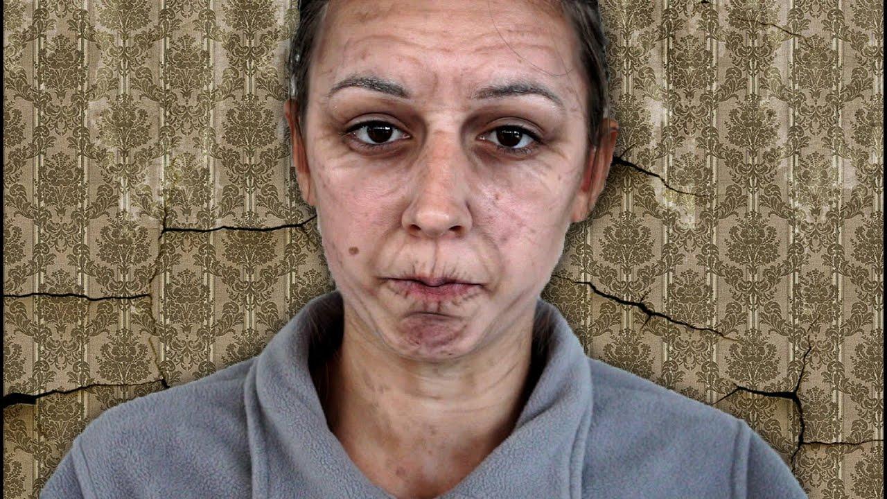 maquillage vieille femme