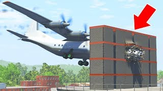 BeamNG Drive - TOP 10 Building Crashes Collapses