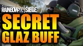 Rainbow Six Siege - In Depth: SECRET GLAZ BUFF!
