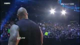 The Rock Returns To WWE Raw 2011