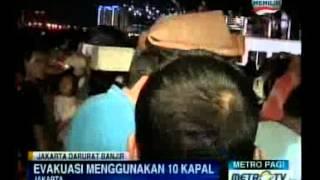 Wagub Ahok Kawal Proses Evakuasi Ribuan Warga Muara Baru