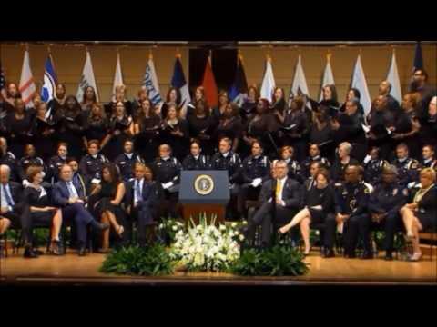 Total Praise @ Dallas Police Memorial July 2016