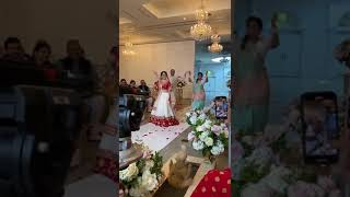 """WOW! Bridal entry with mama-mami is awesome"""" #shorts"""