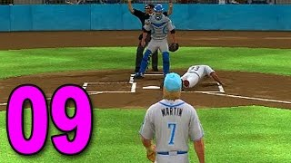 MLB 15 Pitch to the Show - Part 9 - HIT BY PITCH! (Playstation 4 Gameplay)