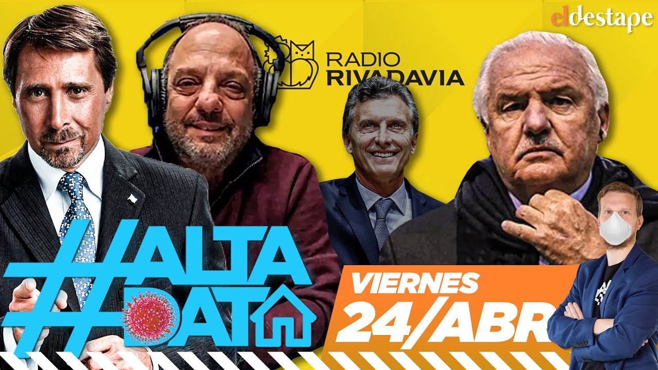 Alta Data Explota Radio Rivadavia Se Va Niembro Llega Baby Y Feinmann Insulta Youtube