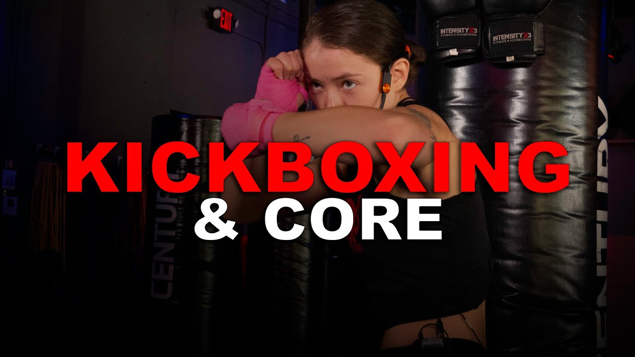 Punching Bag KICKBOXING & CORE Workout with KillaCole!