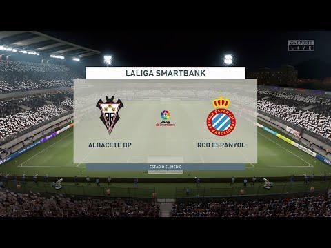 Albacete vs Espanyol | Segunda Division (04/04/2021) | Fifa 21 |