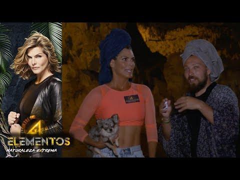 Montserrat y Wero se divierten en el inframundo | Reto 4 Elementos