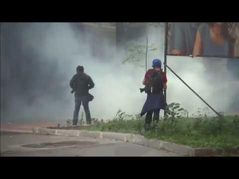 LIVE: Rio de Janeiro rioting outside state assembly