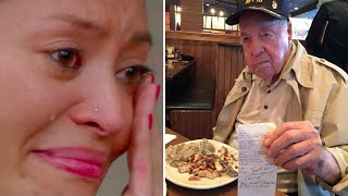 The old man whom everyone disliked, thanked the waitress by leaving her a $ 50,000 tip, a car and...