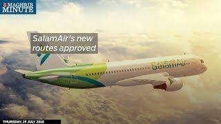 SalamAir's new routes approved