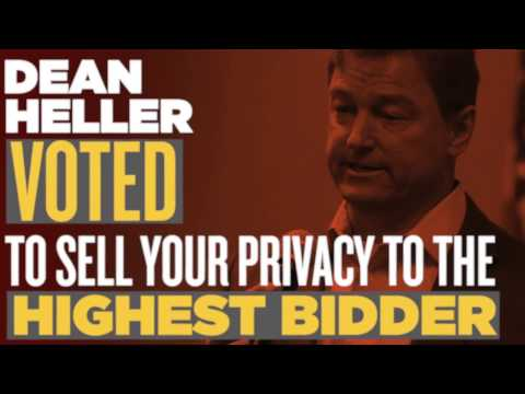 Dean Heller Voted to Sell Your Privacy