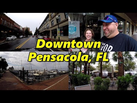 Downtown Pensacola Florida