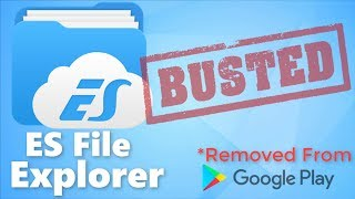 Gambar cover ES file Explorer Removed From The Google Play Store!! Here's Why and how to install