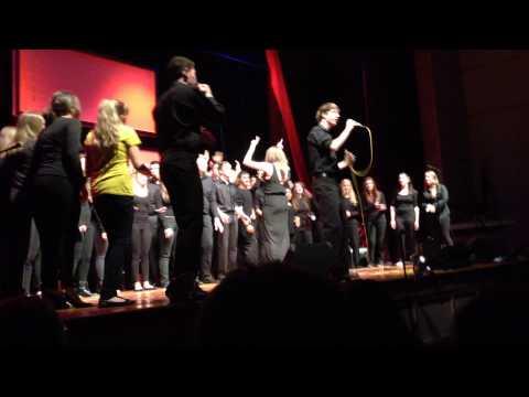 Broomfield High School Eagle Ascent Choir Happy (cover)