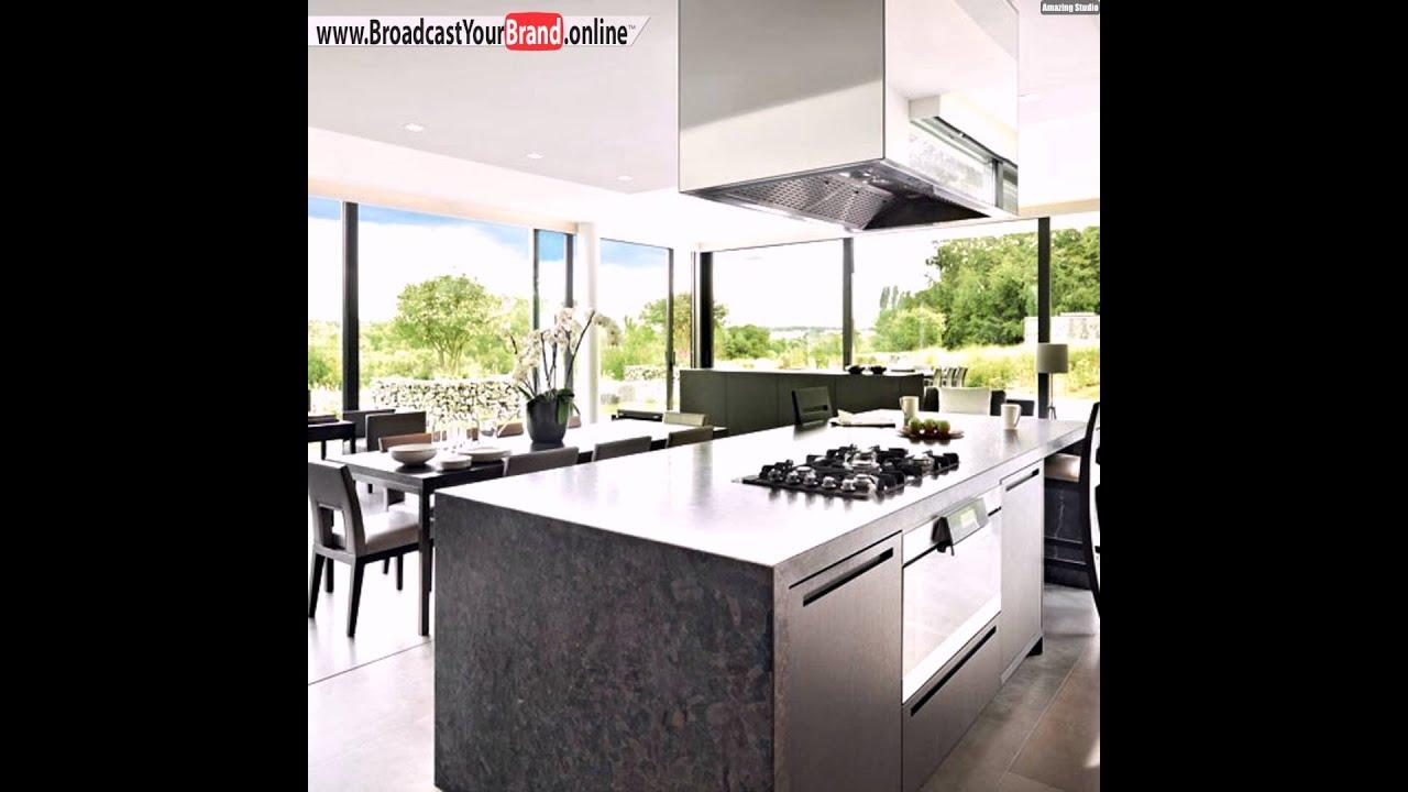 tipps ideen küchenfenster raumhohe fenster glaswände edelstahl