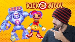 ¡EL PODER DESTRUCTIVO DEL DROID! ⭐️ Kick The Buddy: Forever | iTownGamePlay