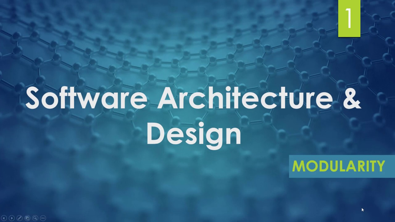 Modularity In Software Engineering Modular Programing Software Architecture Designing Youtube