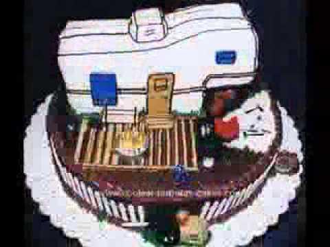 Retirement Cake Decoration Ideas Youtube