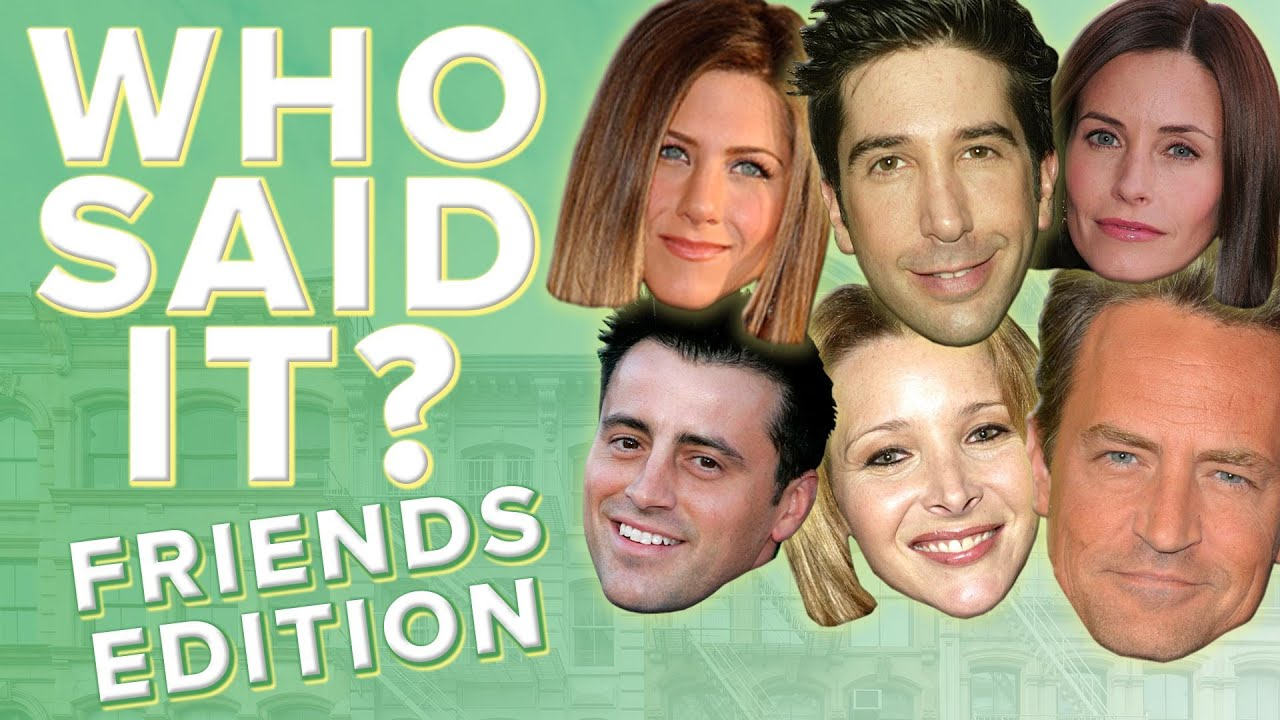 Who Said These Memorable 'Friends' Lines & More | TODAY Trivia | TODAY