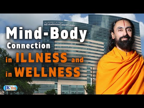 The Mind-Body Connection in illness and Wellness   Swami Mukundananda MD Anderson Cancer Center Talk