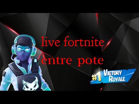 Fr/Fille/ps4/ live fortnite go rushs les top top 1 avec les pote