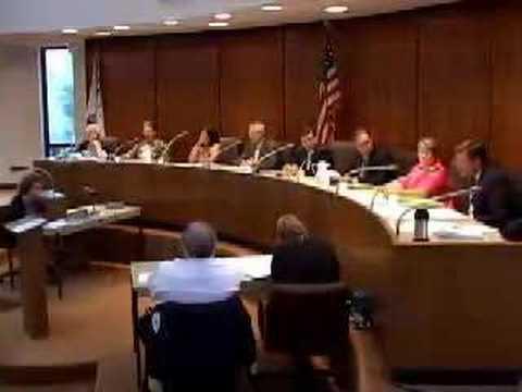 Carpentersville President Sarto yells and walks off job