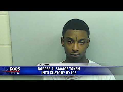 Rapper 21 Savage in ICE custody Mp3