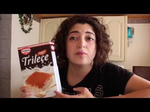 Trilece pasta yapımı #hazır